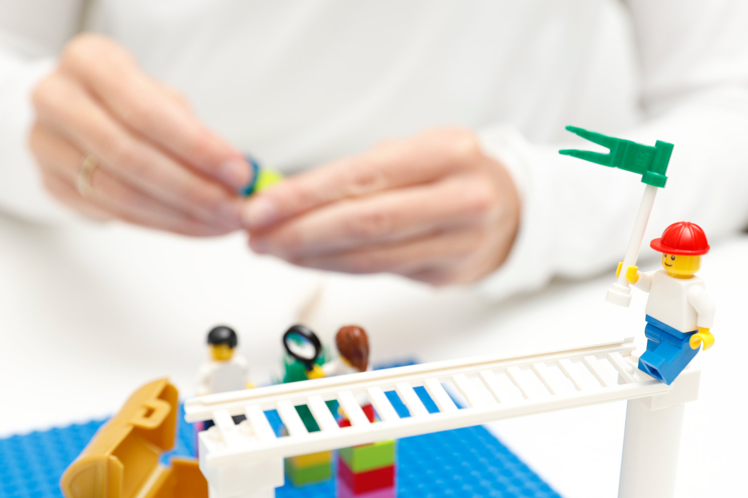 Strategie-Workshop mit Lego® Serious Play® (LSP)